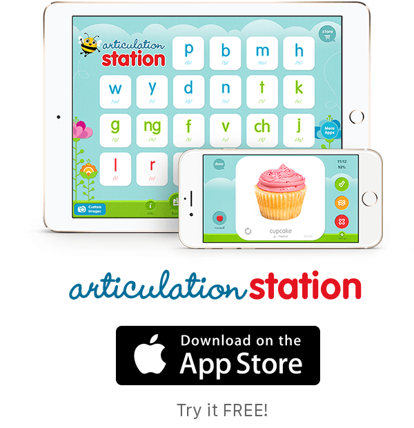 Download Articulation Station and help you child speak clearly!