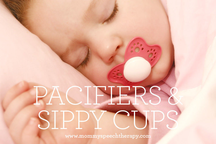 Do Pacifiers and Sippy Cups Cause Speech Delay?
