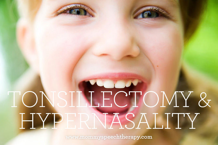 Tonsillectomy-Adenoidectomy and Hypernasality