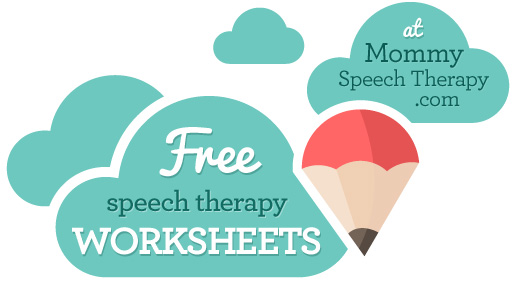 Free Worksheets - Mommy Speech Therapy