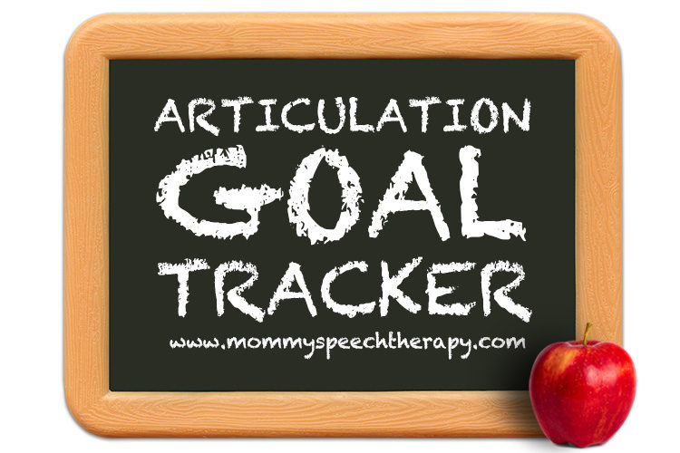Articulation Goal Setting - Mommy Speech Therapy