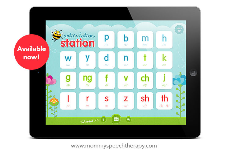 Articulation Station is on the App Store - Mommy Speech Therapy