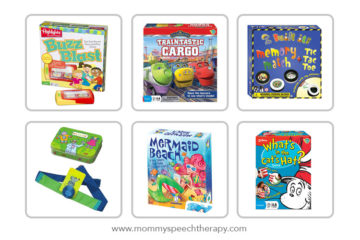 Best New Games for Speech Therapy - Mommy Speech Therapy