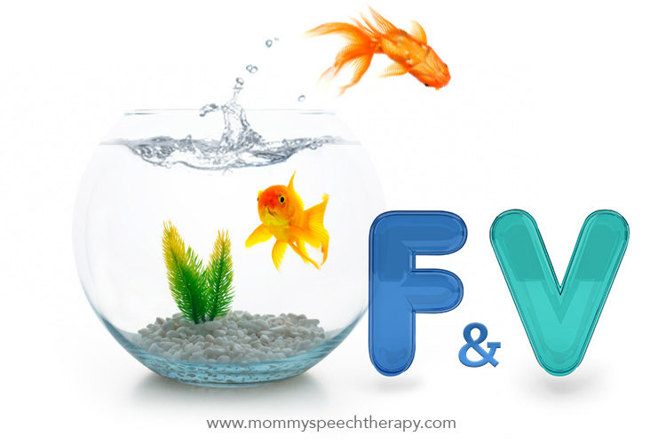 Ho to Teach the F & V Sounds - Mommy Speech Therapy