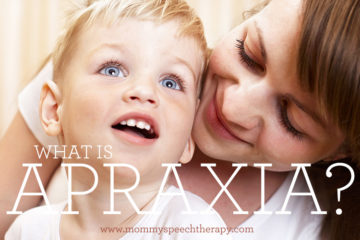 What is Apraxia? - Mommy Speech Therapy