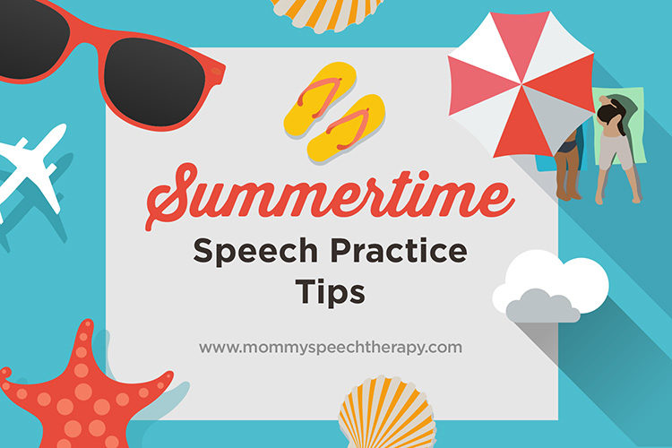 Summertime Speech Activities - Mommy Speech Therapy