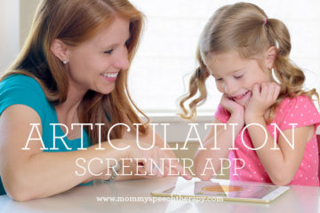 Articulation Screening Apps for Parents and SLPs - Mommy Speech Therapy