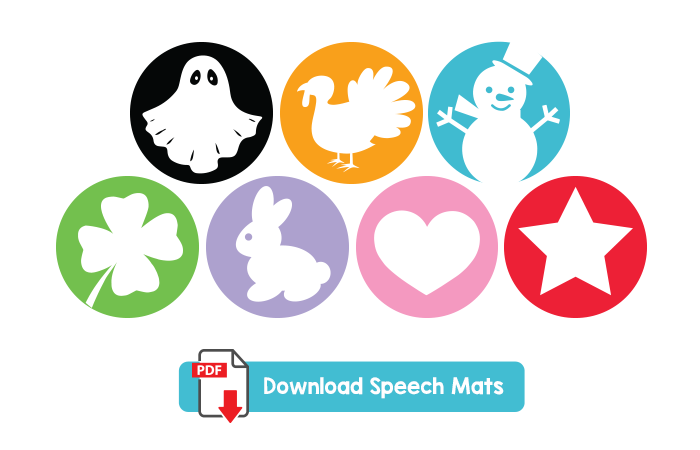 Download Free Speech Mats - Mommy Speech Therapy