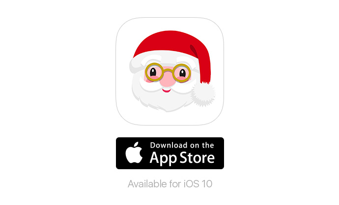Little Christmas Stickers App from Little Bee Speech