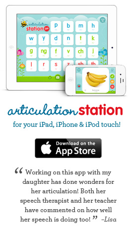 Articulation Station for iPad