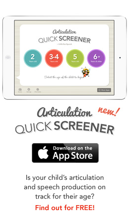 Articulation Quick Screener for iPad